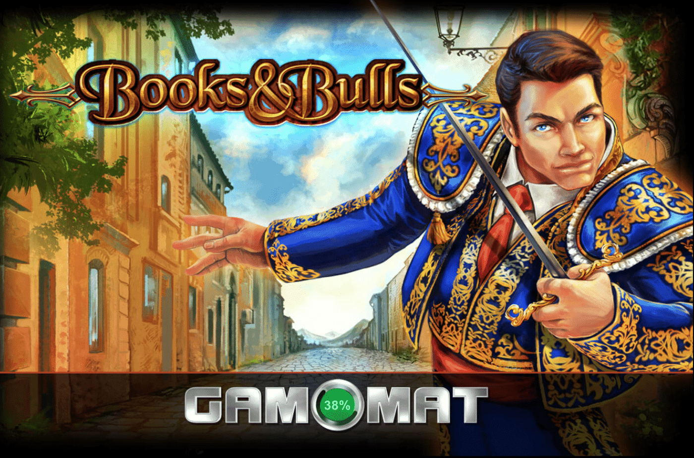 Books & Bulls Slot von Gamomat