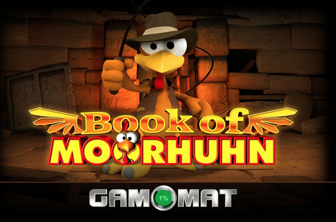 Book of Moorhuhn Slot von Gamomat