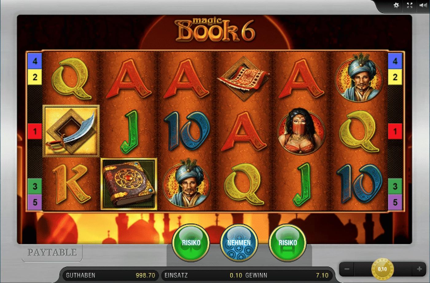Magic Book 6 von Gamomat