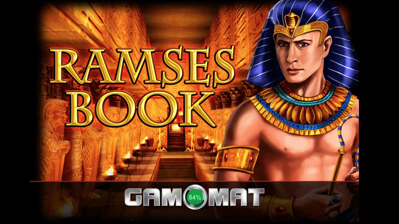 Ramses Book von Gamomat