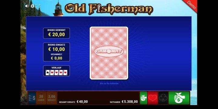 Old Fisherman Kartenrisiko