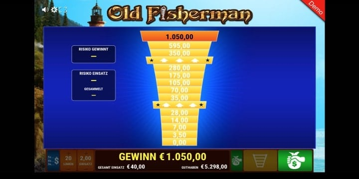 Old Fisherman Leiterrisiko