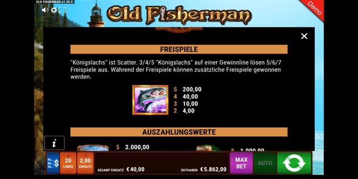 Old Fisherman Scatter-Symbol