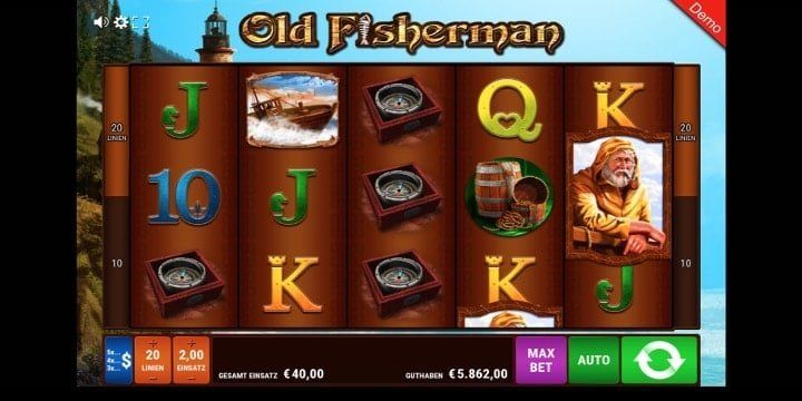 Old Fisherman Spielautomat