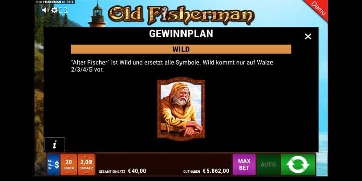 Old Fisherman Wild-Symbol