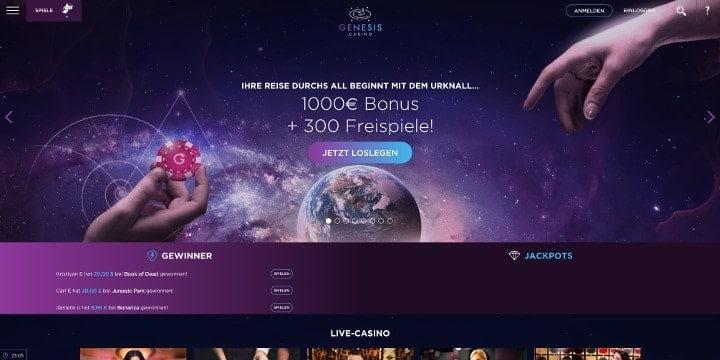 Bonus Genesis Casino