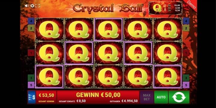 Crystal Ball Slot von Gamomat