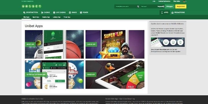 Apps Unibet Casino