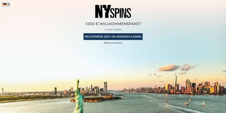 Bonus NYSpins Casino