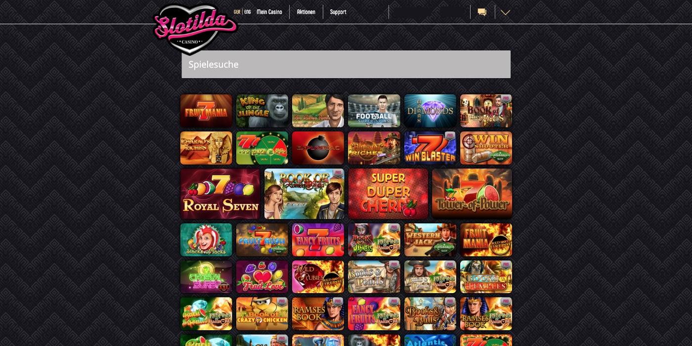 Slotilda Casino Gamomat