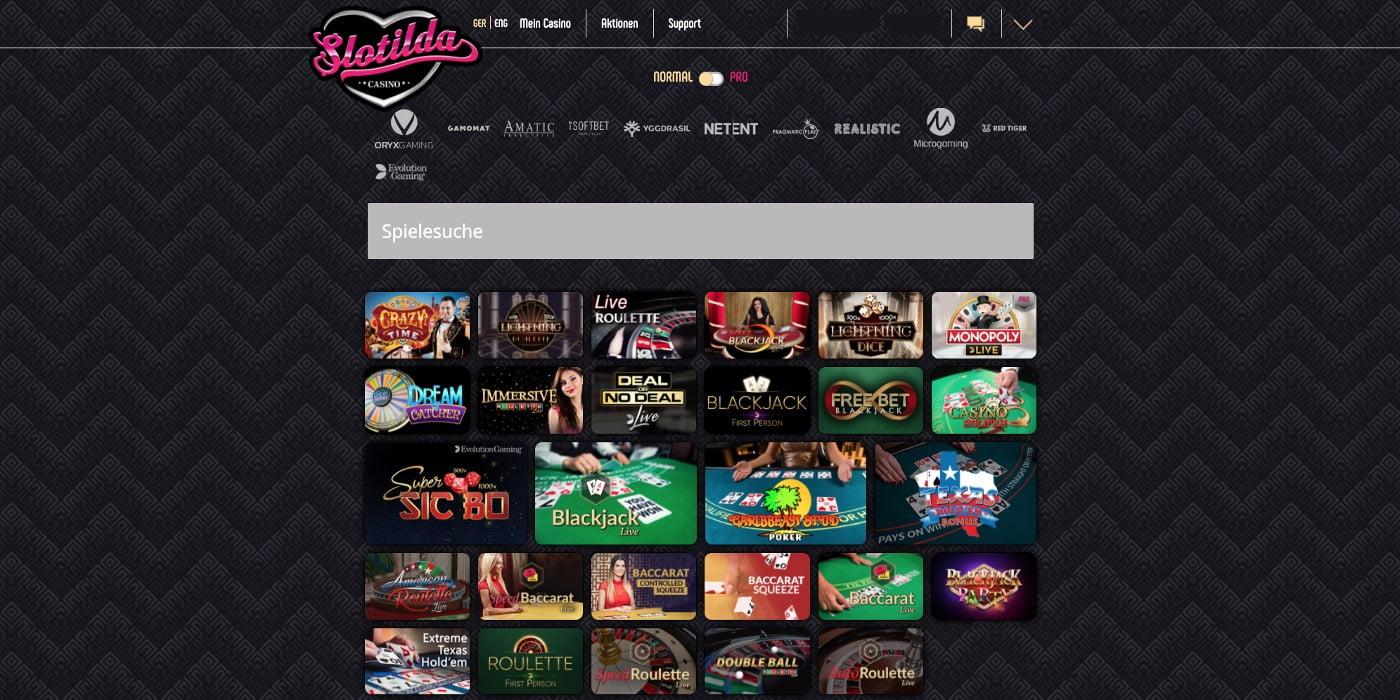 Slotilda Casino Live