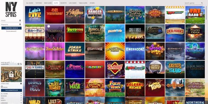 Slots NYSpins Casino