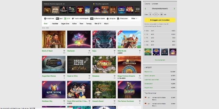 Slots Unibet Casino