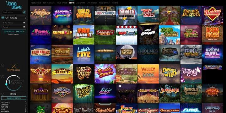 Slots VoodooDreams Casino
