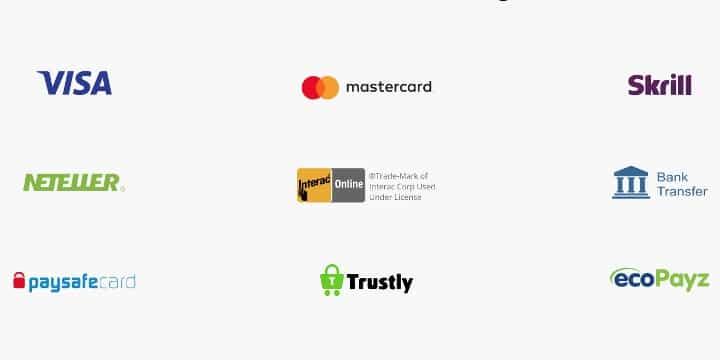 LightCasino Zahlungsmöglichkeiten