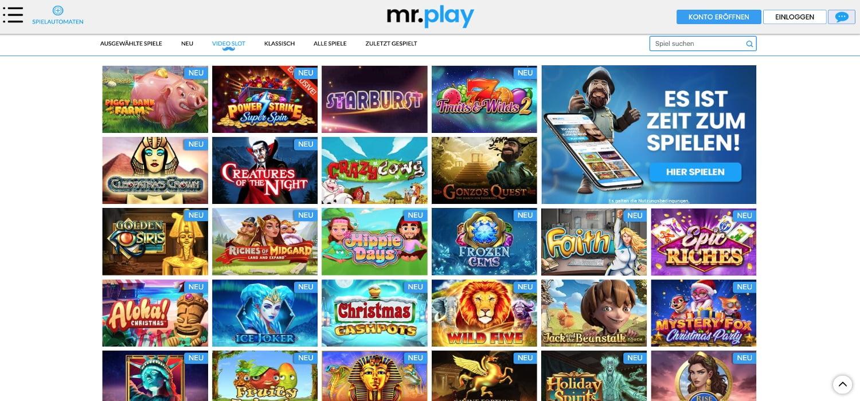 Mr. Play Casino Slots