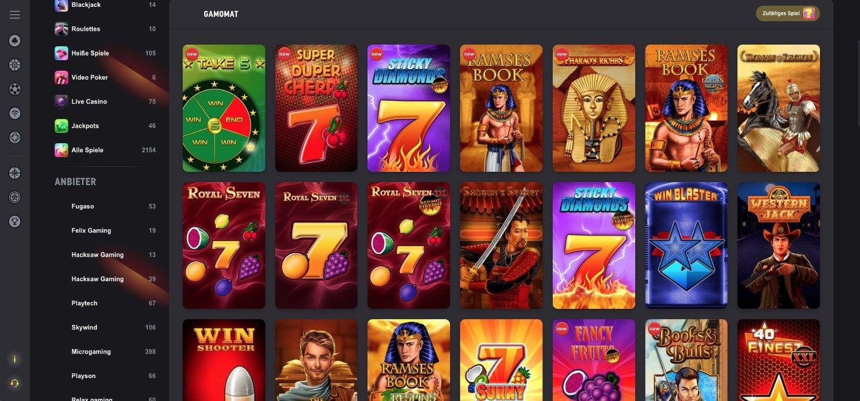 FezBet Casino Gamomat
