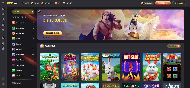 FezBet Casino Slots