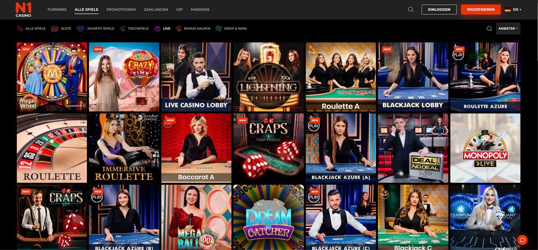 N1 Casino Live