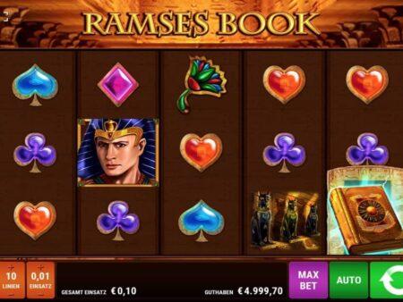 Ramses Book Online Casino und Slot Test