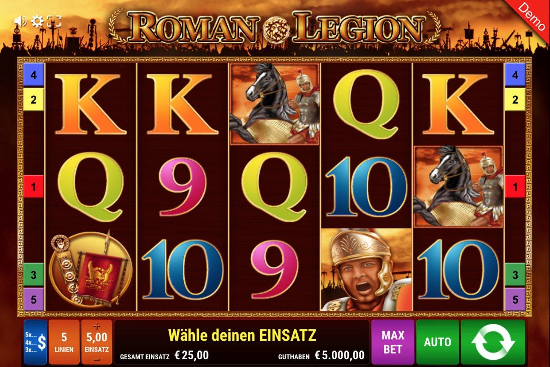 Roman Legion Slot von Gamomat