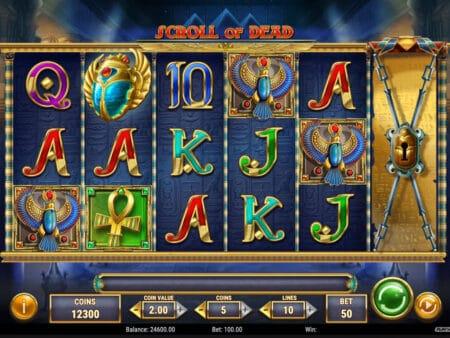 Scroll of Dead Slot Play´n Go