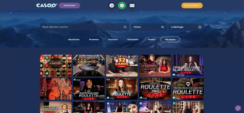 Casoo Live-Casino