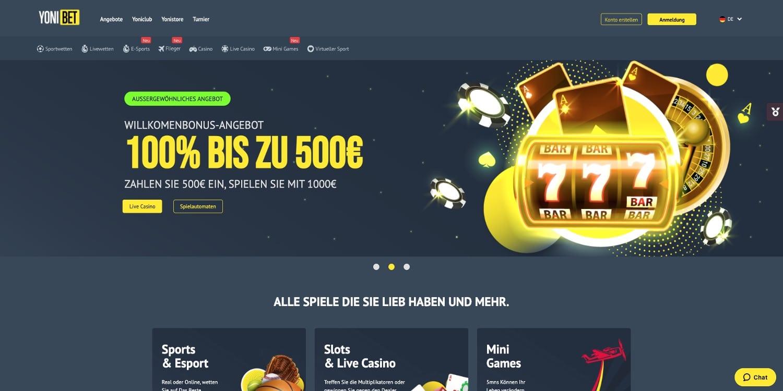 Yonibet Casino Bonus
