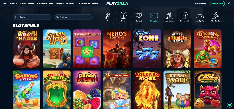 Playzilla Casino Slots