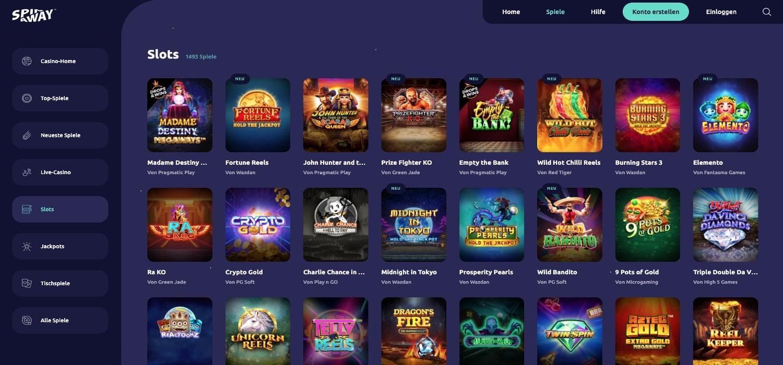 Spinaway Casino Slots